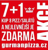Kup 8 pizz nebo salátů a nejlevnější je zdarma